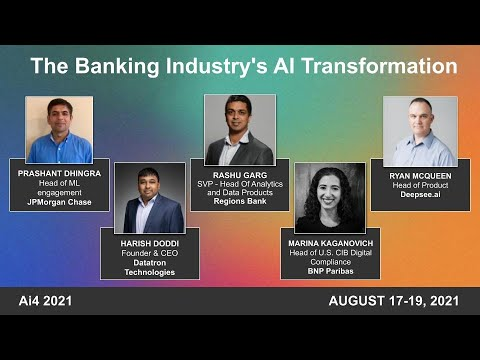 The Banking Industry's AI Transformation