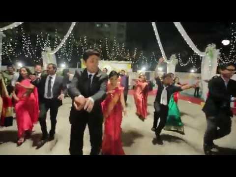 Thudakkam Mangalyam Wedding dance (Full Video)