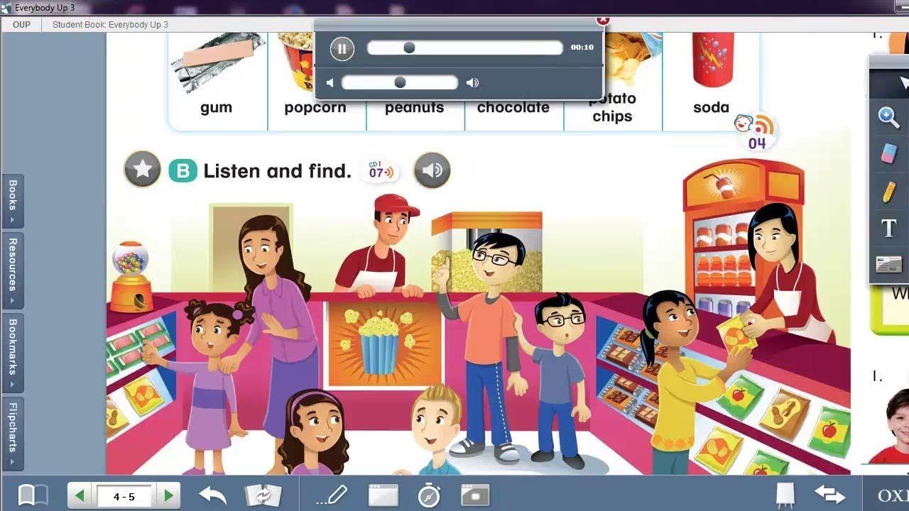 Download Itools của giáo trình Tiếng Anh Everybody up 1 2 3 4 5 6
