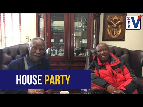 EFF's house party with Mbeki was positive, says Malema