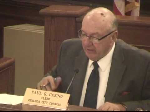 CCTV presents Chelsea City Council meeting of 10/17/16