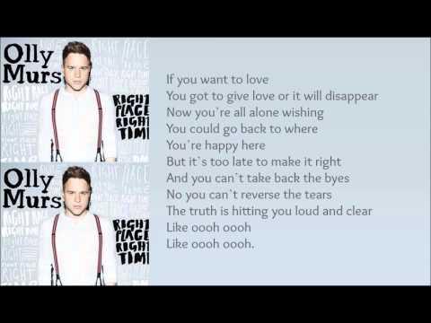 Olly Murs - Loud & Clear (With Lyrics)