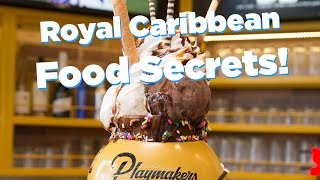 Royal Caribbean Food Secrets Discounts, tips and MORE!!