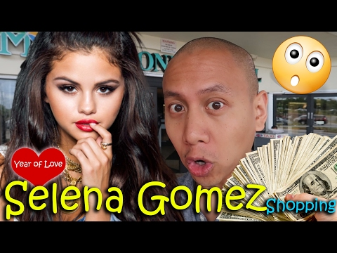 SELENA GOMEZ SHOPPING | February 20th, 2017 | Vlog #32