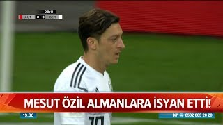 Mesut Özil Almanlara isyan etti! - Atv Haber 23 Temmuz 2018