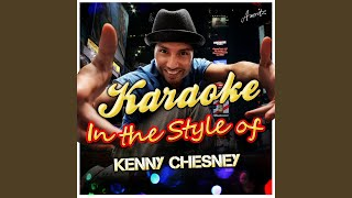 You Had Me from Hello (In the Style of Kenny Chesney) (Karaoke Version)