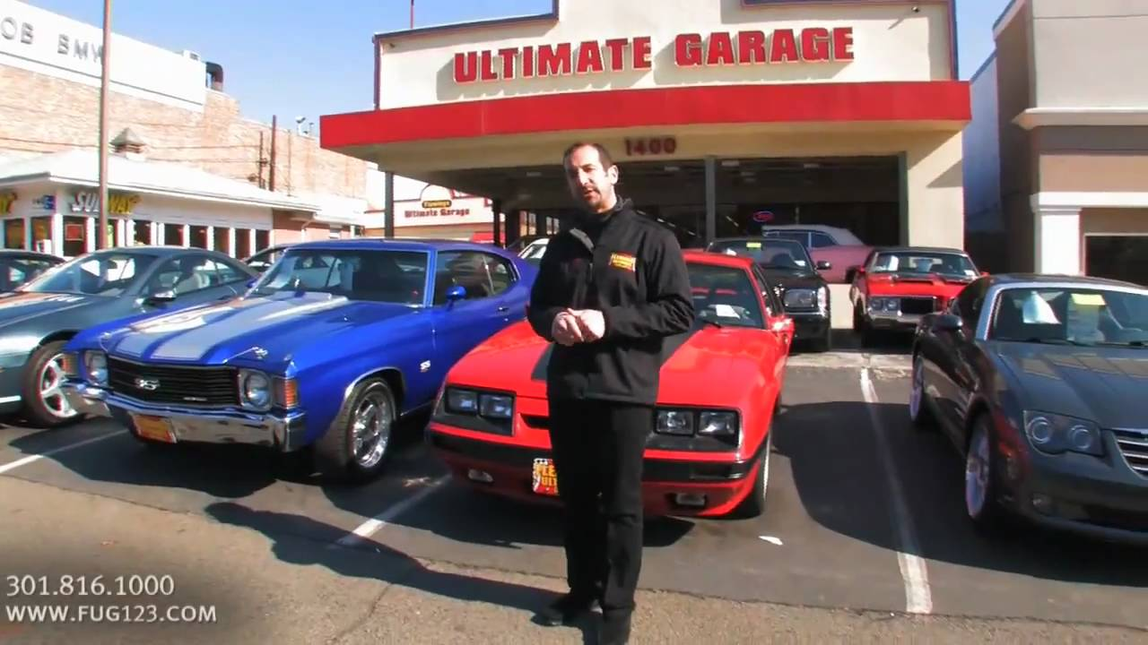 Learn about Flemings Ultimate Garage with owner Tony Fleming - YouTube