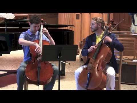 Ravel Bolero and Game of Thrones Song of Fire and Ice  cello duet
