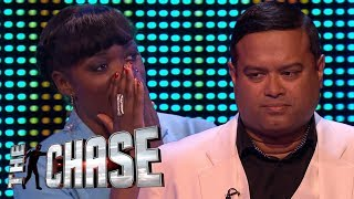 Andi Osho's Incredible Solo Final Chase With The Sinnerman | The Celebrity Chase