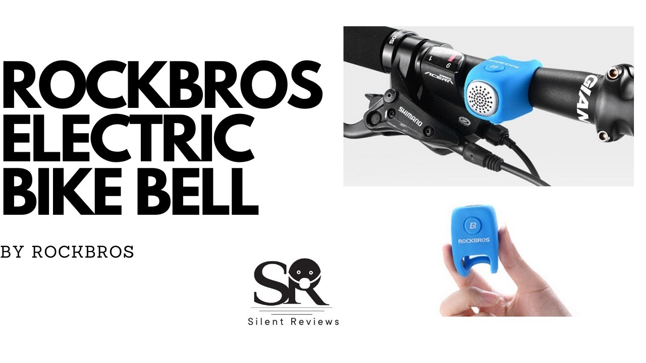 ROCKBROS Electric Cycling Bell 110 dB Horn * UNBOXING * 4K
