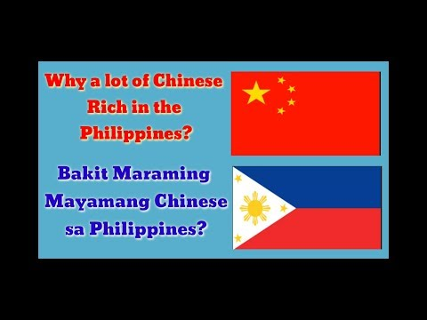 WHY A LOT OF CHINESE RICH IN THE PHILIPPINES/TAGALOG part#1
