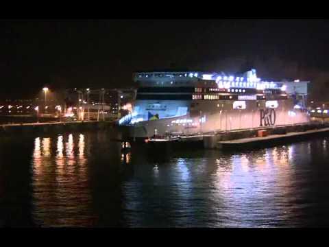 Ferry Leaving Dover.UK For Dieppe,Belgium