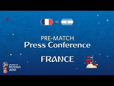 2018 FIFA World Cup Russia™ - FRA vs ARG - France Pre-Match Press Conference