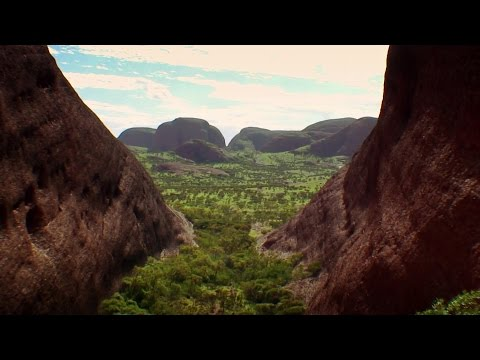 The Olgas (Kata Tjuta) Valley of the winds, Australia