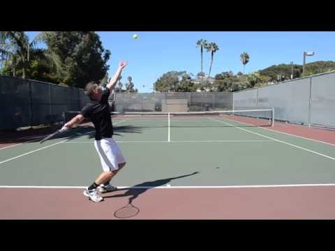 Platform Serve Stance for Tennis
