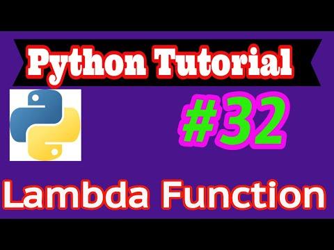 Python Tutorial in Hindi #32: Lambda Function thumbnail