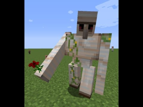 how to make an iron golem in minecraft 1.12