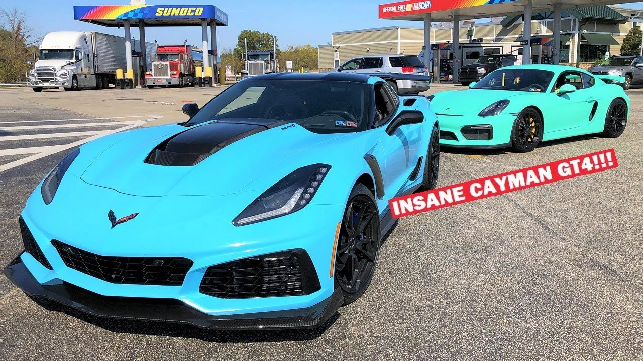 Taking Delivery Of The Only Pts Porsche Cayman Gt4 In The Us 1 Of 1 Paint Spec