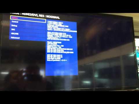 Samsung UE32F5000AW добавляем русский язык