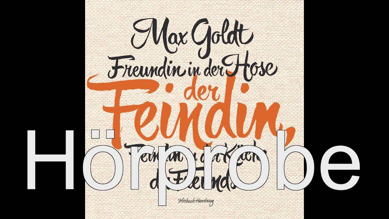 Max Goldt - Freundin in der Hose der Feindin, Feindin in der Küche des Freunds