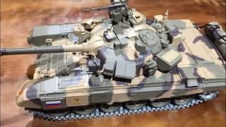 Офіційний Довгий Хен Російський Т-90 1:16 Масштаб