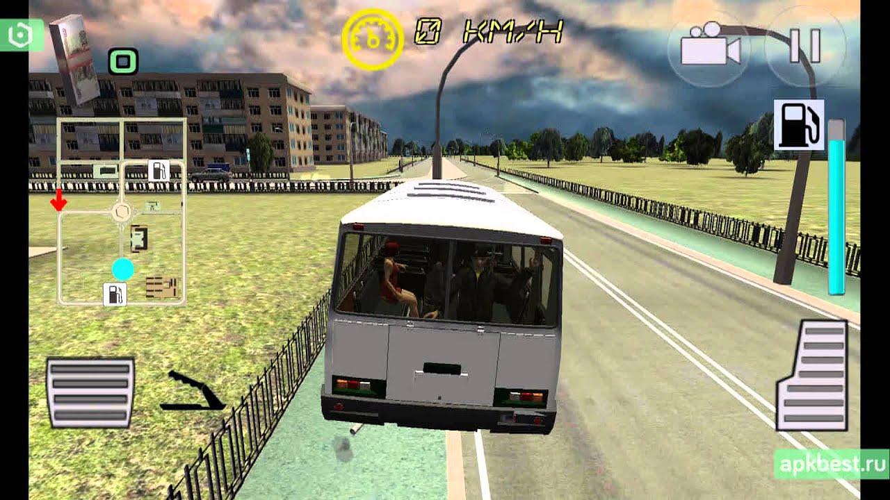 симулятор автобуса русская версия на пк