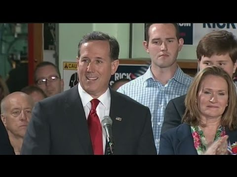 He's In, Again: Rick Santorum Makes 2016 Bid Official