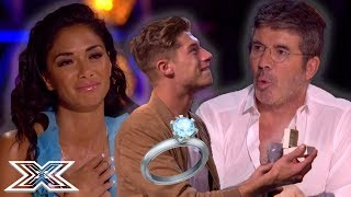 SURPRISE ROMANTIC and FUNNY Proposals on The X Factor | X Factor Global MP3