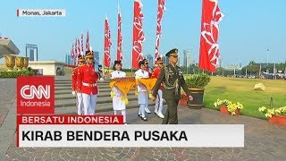 Kirab HUT RI ke-74, Bendera Pusaka Diarak Menuju Istana