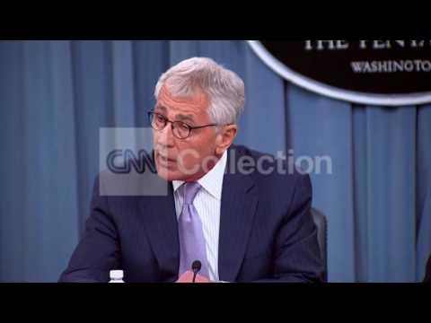 PENTAGON BRFG:HAGEL- ISIS THREAT