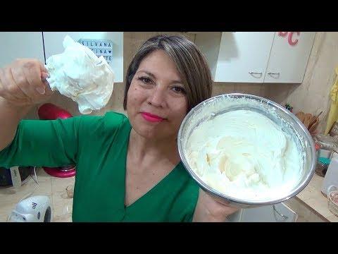 Crema Extra Firme y estable Chantilly / Parte: 3 / Silvana Cocina