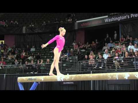 Ragan Smith (USA) - Balance Beam Final - 2016 Pacific Rim Championships