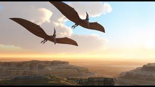 Самое большое летающее животное Птерозавр !!! Смотреть всем очень интересно 100%
