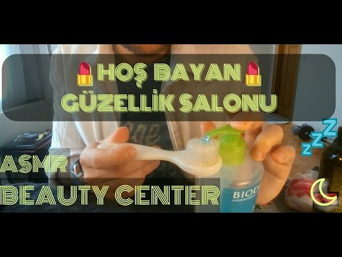 Türkçe ASMR : Güzellik Salonu / ASMR BEAUTY CENTER ROLE PLAY