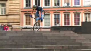 Inspired Bicycles - Danny MacAskill April 2009 thumbnail