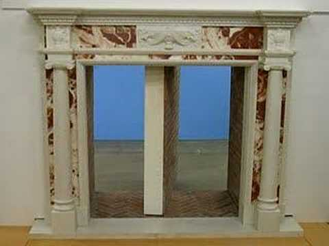 Rotating Fireplace Secret Passage Youtube
