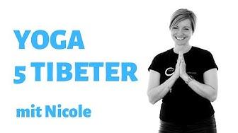 Yogaübung   5 Tibeter   Beweglichkeit Kraft Entspannung
