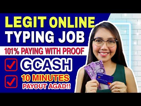 BABAYARAN KA NG P50 –P200 PESOS EASY TYPING JOB | PAYOUT EVERY 10 MINUTES | LEGIT WITH PROOF