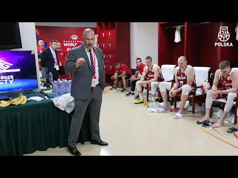 Mike Tylor's emotional speach to Polish players at the end of FIBA World Cup