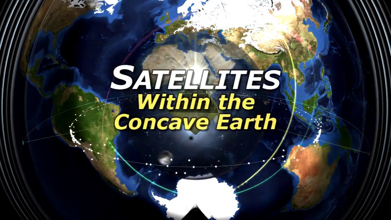 SHOCKER!  Satellites in Lord Steven Christ's Concave Earth