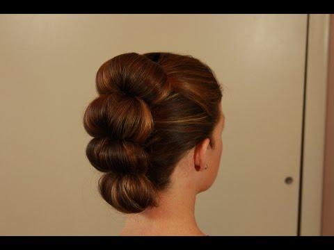 Easy Topsy Tail Bun Fawk Hawk YouTube - Bun hairstyle definition
