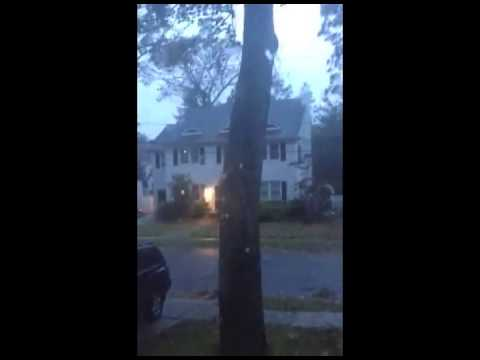 Hurricane Sandy Video (It's not my house)