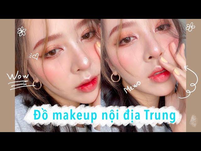 [MaiHuong Makeup] ĐỈNH CAO với ĐỒ TRANG ĐIỂM NỘI ĐỊA TRUNG QUỐC CHỈ 600K - MaiHuong Makeup