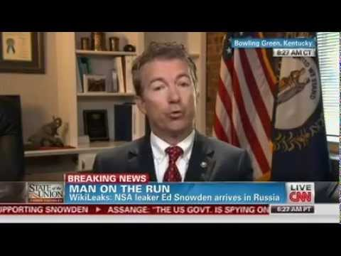 Rand Paul Defends: 'Mr. Snowden Told the Truth in the Name of Privacy'