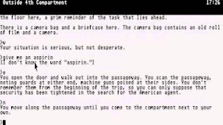 ATARI ST BORDER ZONE A GAME OF INTRIGUE BORDERZONE Infocom Compilation 3 19xx  zip
