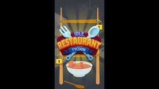 Kolibri games - Idle restaurant tycoon 1080x1920 15s