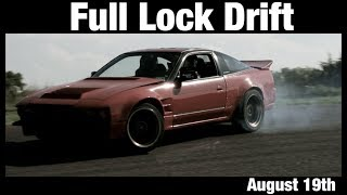 Full Lock Drift Event August 19th Cinematic Film Drifting to Music