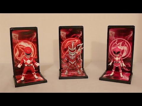 Tamashii Buddies Red & Pink Rangers and Lord Zedd Review [Mighty Morphin Power Rangers]