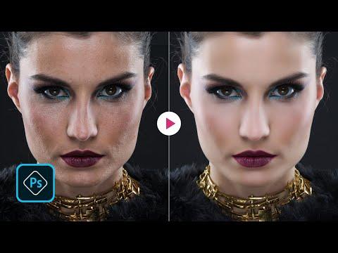 Skin Retouch Photoshop Tutorial   Imagenomic Portraiture 3.65