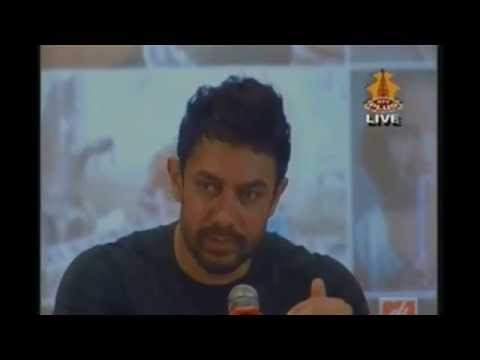 Interaction with Aamir Khan